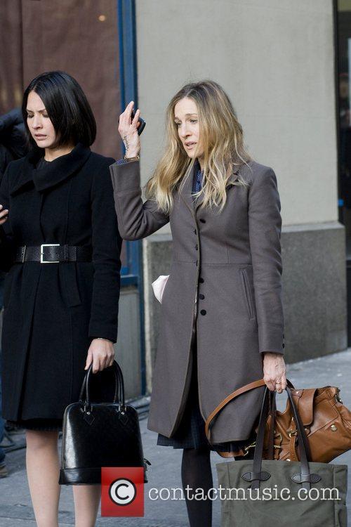 Olivia Munn and Sarah Jessica Parker 13
