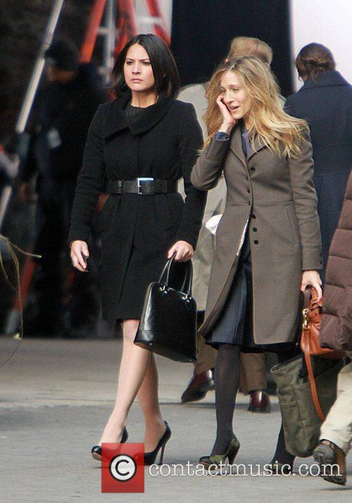 Olivia Munn and Sarah Jessica Parker 3
