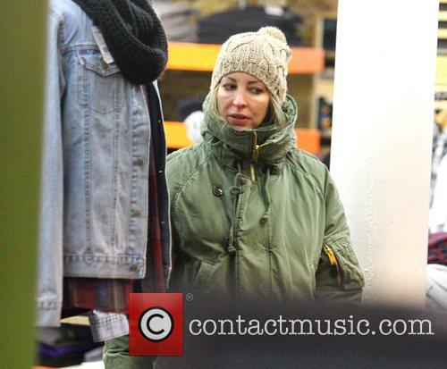 Natalie Appleton  shopping at Urban Outfitters in...