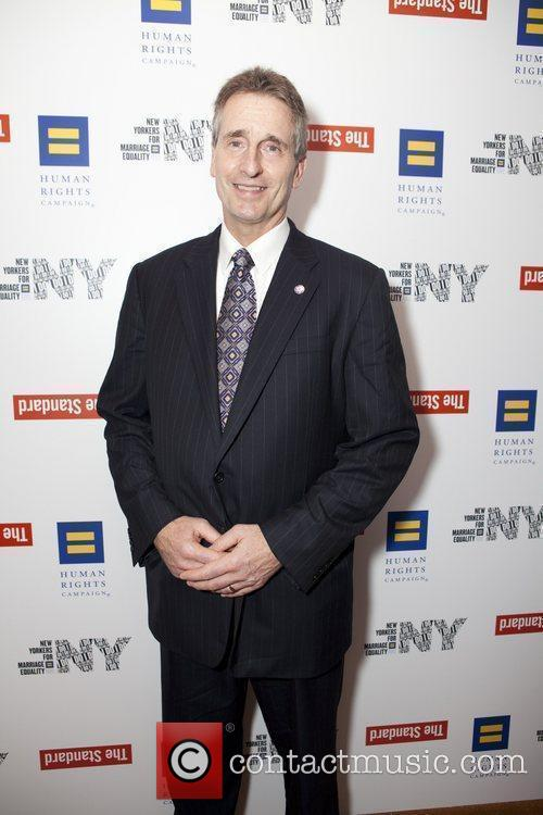 HRC campaign for New York Marriage reception at...