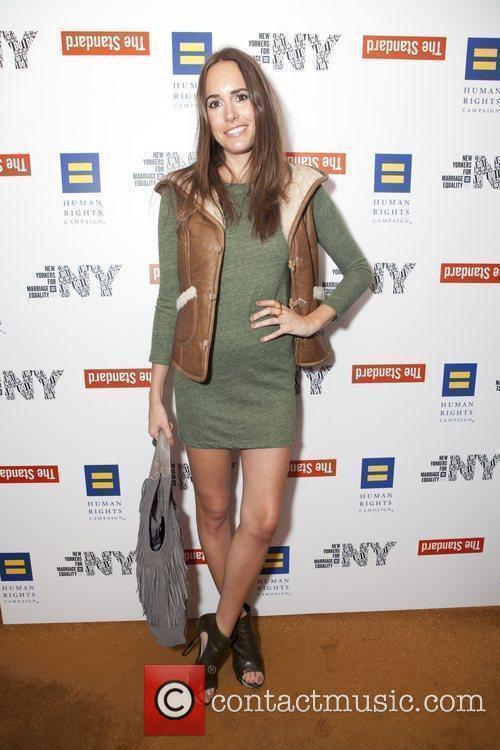 Louise Roe HRC campaign for New York Marriage...