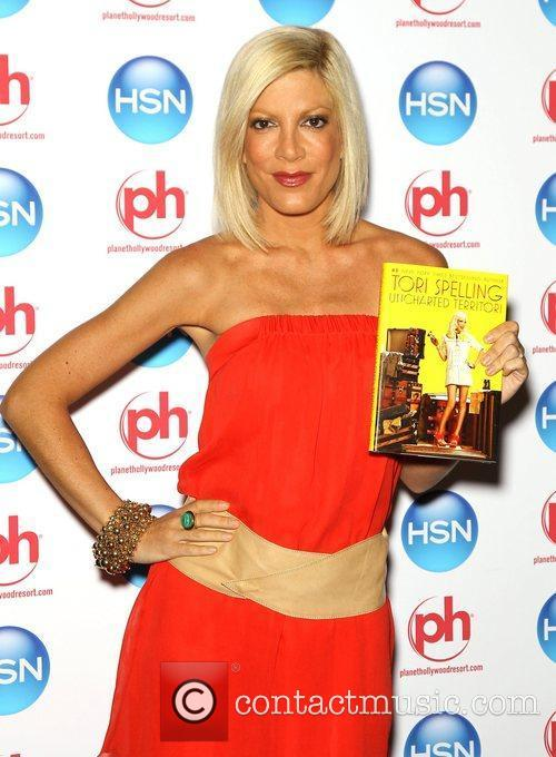 Tori Spelling HSN Live Celebrity Extravaganza at Planet...