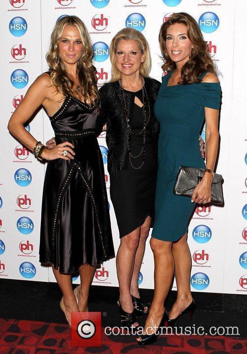 Molly Sims, Mindy Grossman, Jennifer Flavin-Stallone HSN VIP...