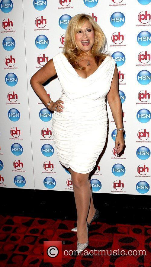 Rhonda Shear HSN VIP Cocktail Party At Planet...