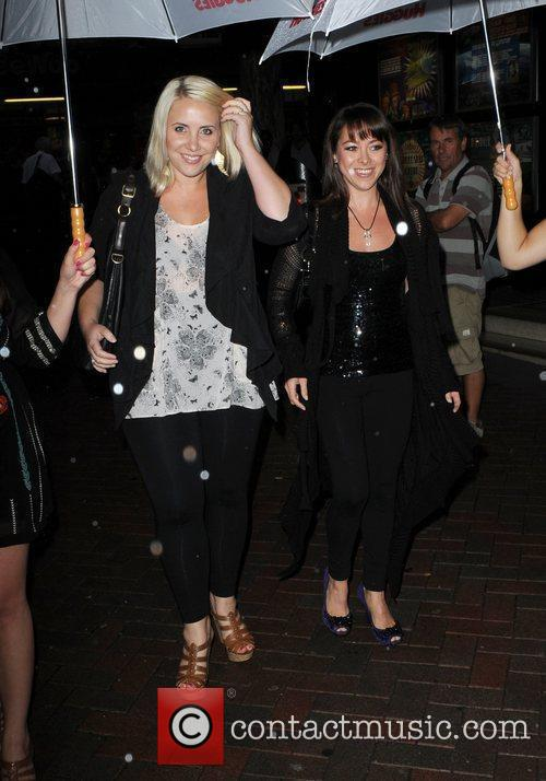 Claire Richards and Lisa Scott Lee 'Huggies Little...