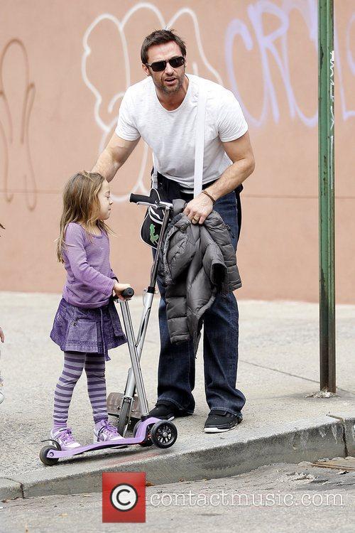 Ava Eliot Jackman and Hugh Jackman Hugh Jackman...