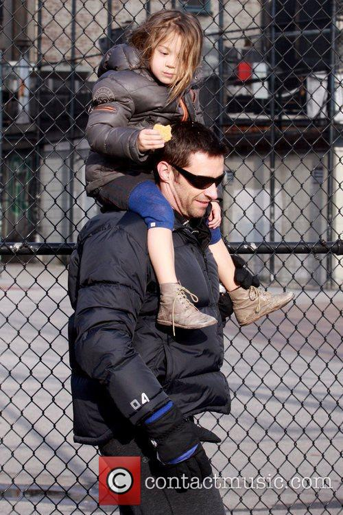 Hugh Jackman and daughter Ava Jackman 3