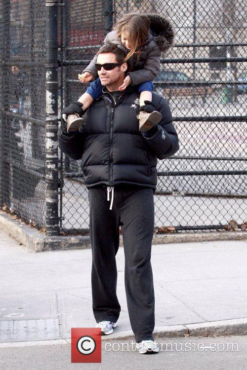Hugh Jackman and daughter Ava Jackman 6