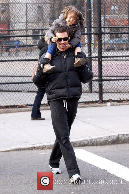 Hugh Jackman and daughter Ava Jackman 2