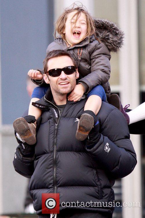 Hugh Jackman and daughter Ava Jackman 4