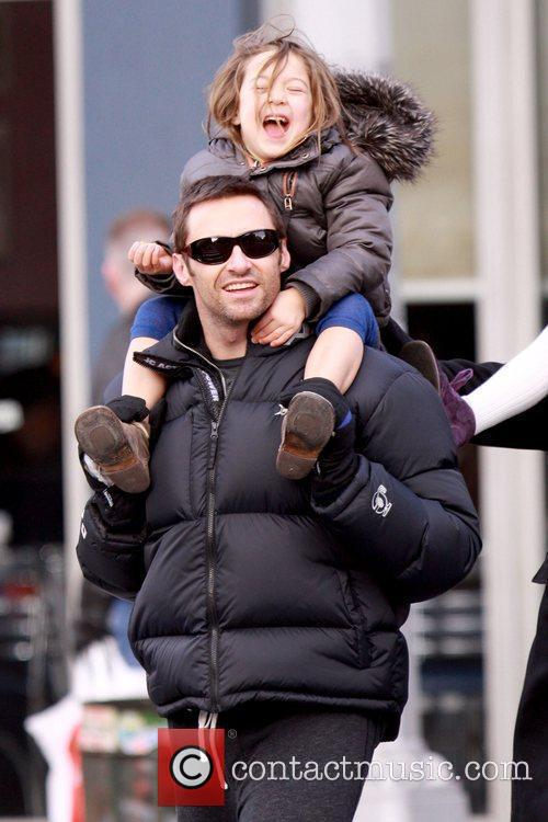 Hugh Jackman and daughter Ava Jackman 12