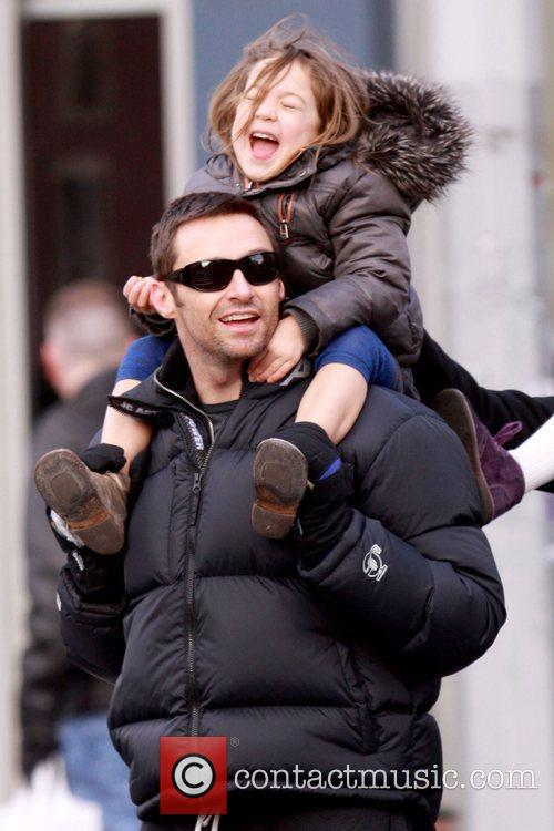 Hugh Jackman and daughter Ava Jackman 9
