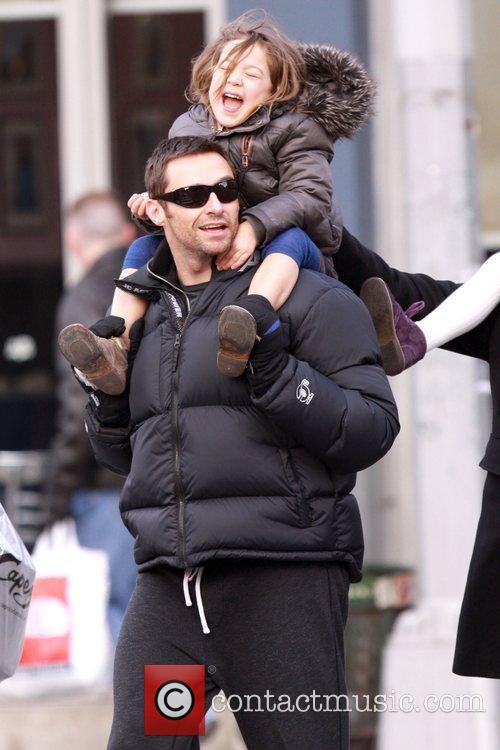 Hugh Jackman and daughter Ava Jackman 1