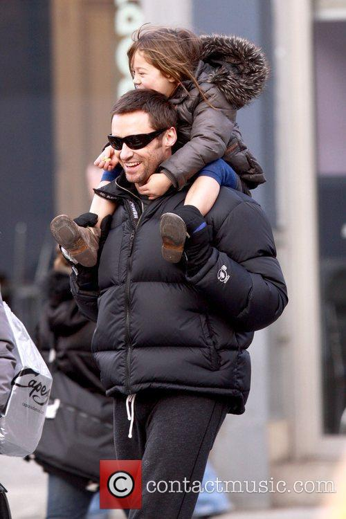 Hugh Jackman and daughter Ava Jackman 10