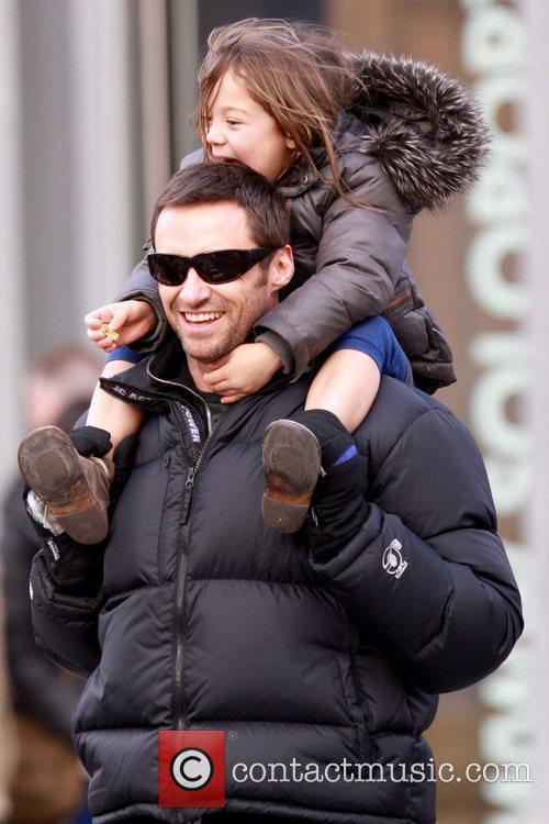 Hugh Jackman and daughter Ava Jackman 16