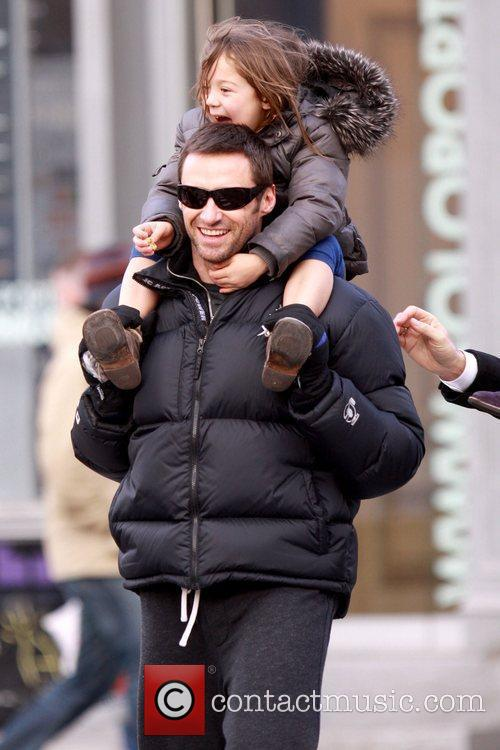 Hugh Jackman and daughter Ava Jackman 5