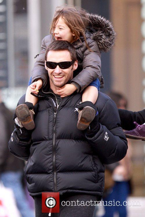 Hugh Jackman and daughter Ava Jackman 8