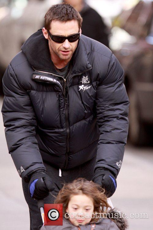 Hugh Jackman and daughter Ava Jackman 14