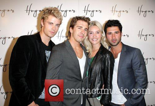 Luke Mitchell and the cast of 'Packed To...