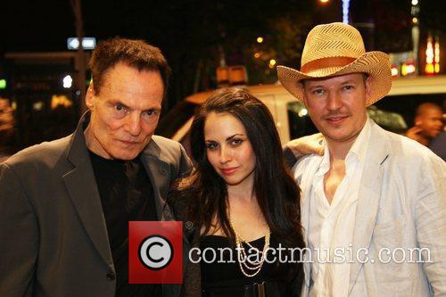 Dieter Laser, Ashley C. Williams and Director Tom Six