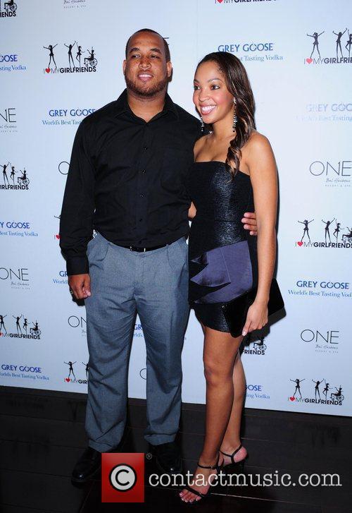 Miss America Caressa Cameron and boyfriend Nat Jackson...