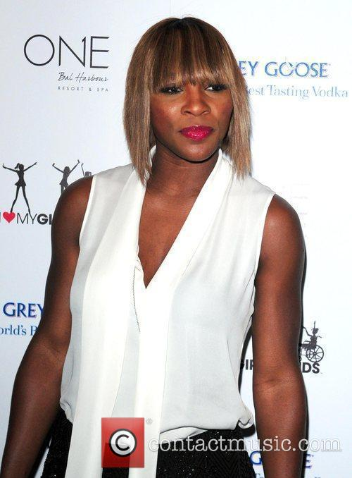 Serena Williams Kelly Rowlands 'I Heart My Girlfriends'...