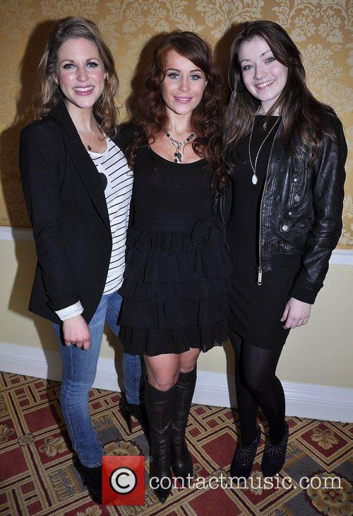 Amy Huberman, Jade Yourell and Sarah Bolger 4