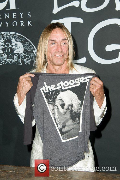 At the launch of Archive 1887 Iggy Pop...