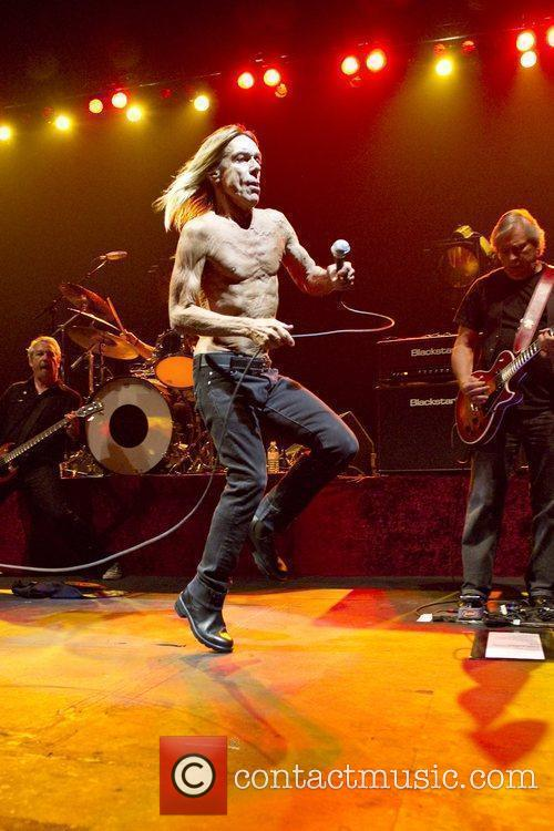 Iggy and the Stooges perform live at Hammersmith...