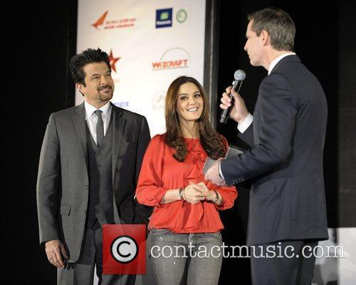 Anil Kapoor , Preity Zinta and Ontario Premier...