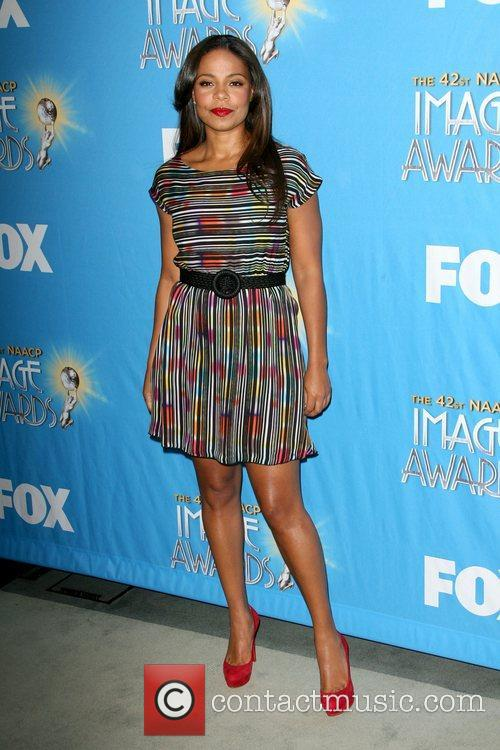 Sanaa Lathan 42nd Annual Image Awards Nomination announcements...