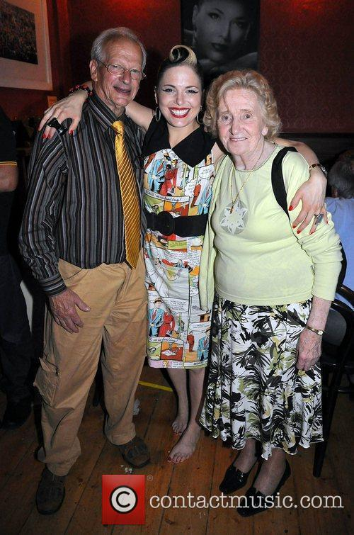 Singer Imelda May with her parents has a...