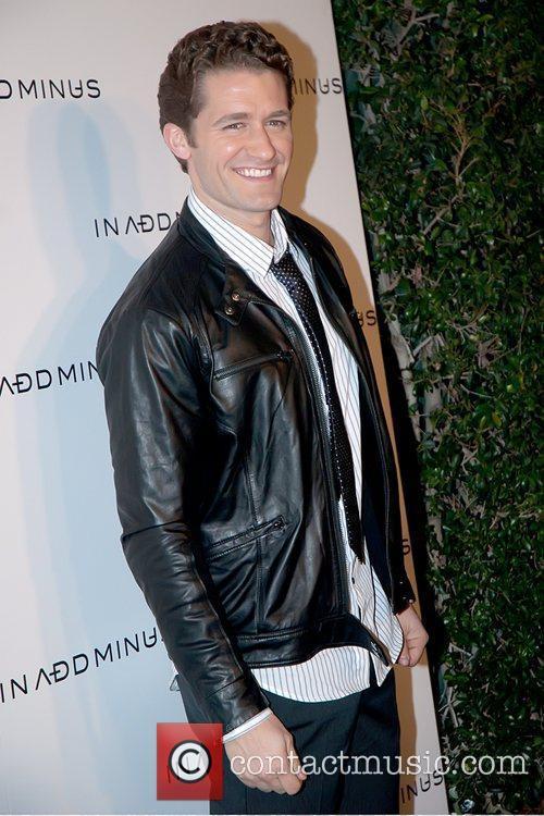 Matthew Morrison In Add Minus flagship store opening...