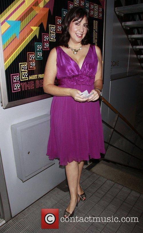 Kristen Anderson-Lopez Opening night of the new Off-Broadway...