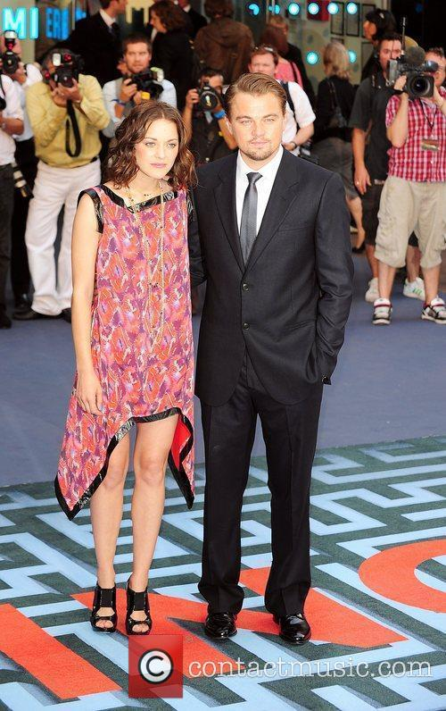 Marion Cotillard and Leonardo DiCaprio 6