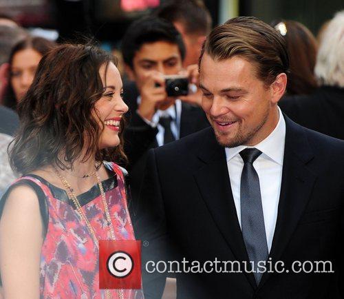Marion Cotillard and Leonardo DiCaprio 8