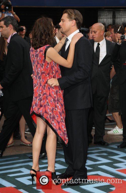 Marion Cotillard and Leonardo DiCaprio 3