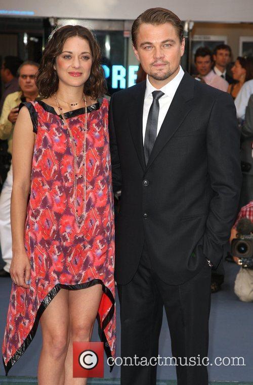 Marion Cotillard and Leonardo DiCaprio 1