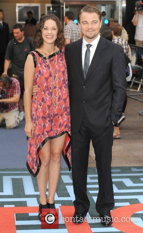 Marion Cotillard and Leonardo DiCaprio 2