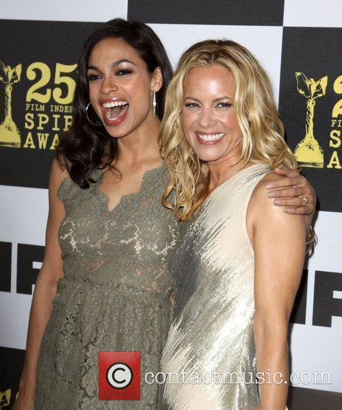 Rosario Dawson and Maria Bello 7