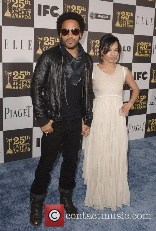 Zoe Kravitz and Lenny Kravitz 7