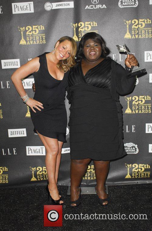Mariah Carey and Gabourey Sidibe 2