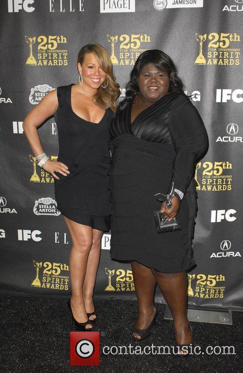 Mariah Carey and Gabourey Sidibe 3