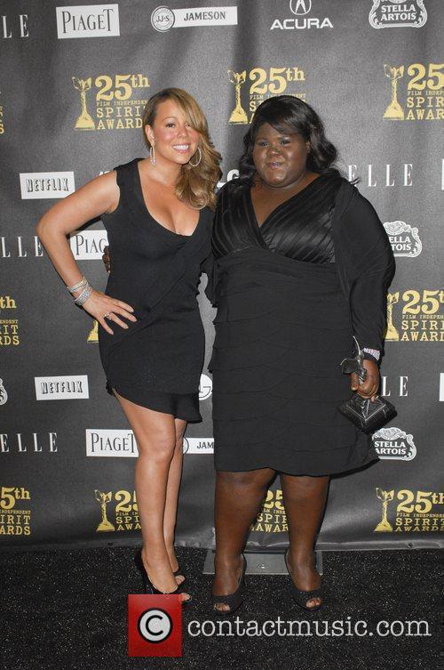 Mariah Carey and Gabourey Sidibe 1