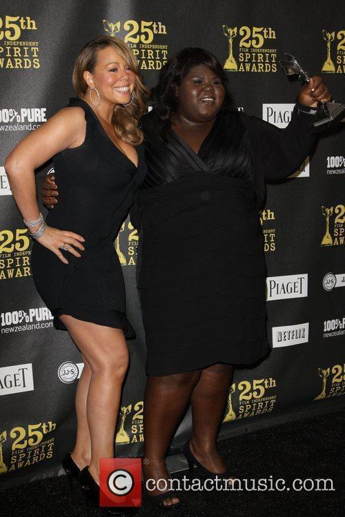 Gabourey Sidibe and Mariah Carey 10