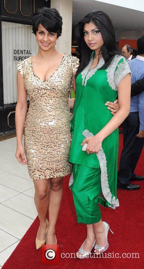 Gul Panag & Hira Shah Official opening of...