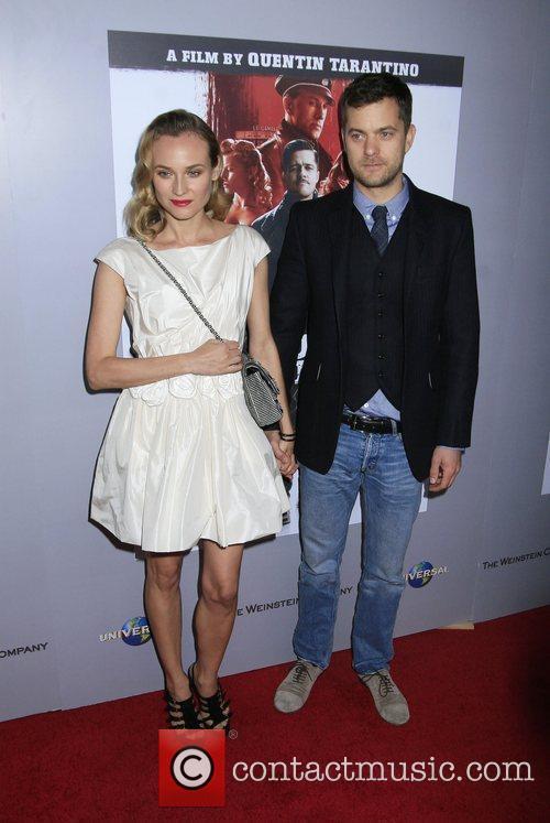 Diane Kruger and Joshua Jackson Inglourious Basterds Blu-Ray...