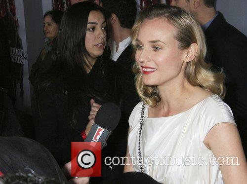 Diane Kruger Inglourious Basterds Blu-Ray And DVD Launch...
