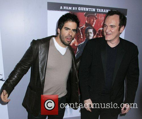 Eli Roth and Director Quentin Tarantino 5