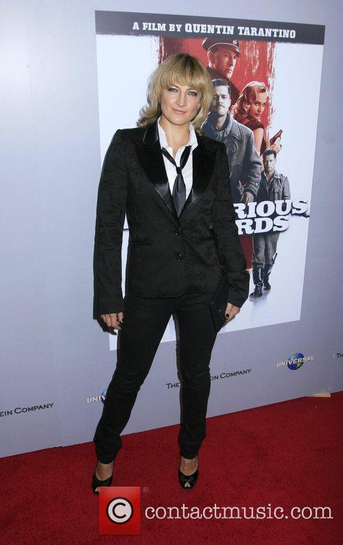 Zoe Belle Inglourious Basterds Blu-Ray And DVD Launch...